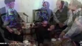 حضور رهبر انقلاب در منزل شهید مسیحی