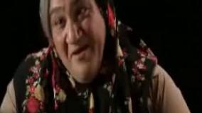 مهران غفوریان در نقش مادر پیر