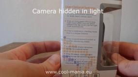 دوربین جاسوسی شبیه لامپ برای اتاق پرو؟!