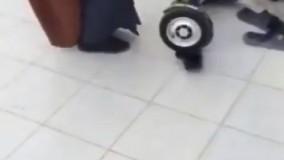 زمین خوردن شیخ عرب ......