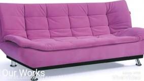 انواع کاناپه های تختخوابشو ویلامبل Www.Villamobl.com 09331155459 09120120459