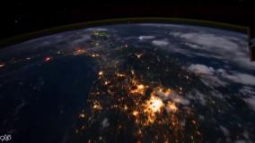 ویدیو تایم لپس ناسا از گردش ماهواره دور زمین