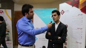 مصاحبه مدیر وب با آقای سالاری در هشتمین جشنواره وب