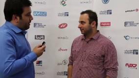 مصاحبه مدیر وب با آقای شلیله مدیر عامل شرکت ای نتورک