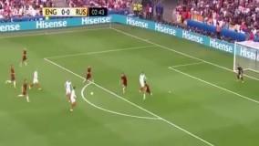 انگلیس ۱ - ۱ روسیه