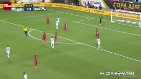 هتریک مسی در بازی با پاناما