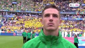 سوئد ۱ - ۱ ایرلند جنوبی