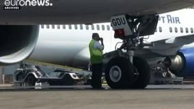 کشف قطعاتی از لاشه هواپیمای مسافربری خطوط هوایی مصر در دریای مدیترانه