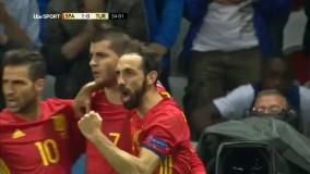 اسپانیا ۳ - ترکیه ۰