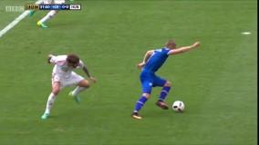 ایسلند ۱ - ۱ مجارستان