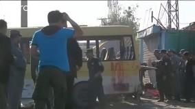 انفجار یک اتوبوس حامل کارکنان دولتی در کابل