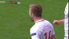 سوئیس ۱ (۴) - ۱ (۵) لهستان