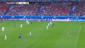 فرانسه ۵ - ۲ ایسلند