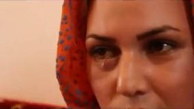 زن اردبیلی که از چشمانش نخ خارج میشود!!