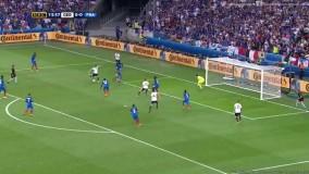 فرانسه ۲ - ۰ آلمان