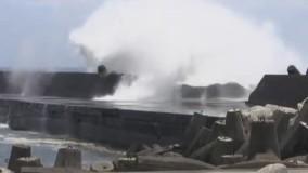 طوفان عظیم «نپارتاک» تایوان را در می نوردد