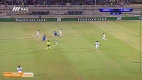 خلاصه بازی استقلال خوزستان 2 - 1 استقلال تهران