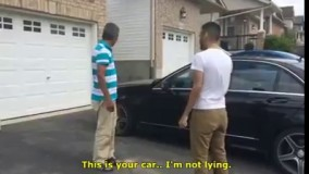 واکنش پدری که همیشه آرزوی بنز داشته حالا که پسرش بزرگ شده براش خریده