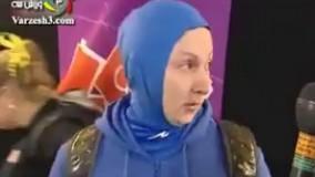یاداوری اشک های لیلا رجبی در المپیک لندن