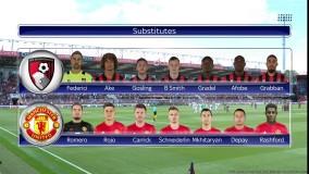 منچستر یونایتد 3 - 1 بورنموث