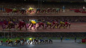 اوسین بولت از المپیک پکن تا ریو برزیل در یک قاب