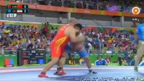 پیروزی بشیر باباجانزاده مقابل چین