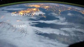 زمین از دیدگاه مسافرین یک فضا پیما