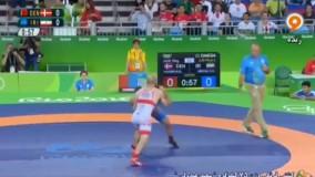شکست سعید عبدولی مقابل دانمارک (المپیک ریو 2016)