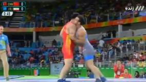 پیروزی قاسم رضایی مقابل چین (المپیک ریو 2016)