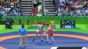 شکست امید نوروزی مقابل گرجستان با هنرنمایی داور (المپیک 2016 ریو)