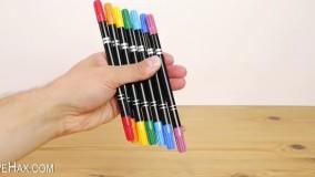 هک کردن ماژیک ! با یک ماژیک، هفت رنگ نقاشی کنیم