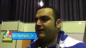 اشک های بهداد سلیمی بعد از حق خوری هیئت ژوری در وزنه برداری (المپیک ریو 2016)