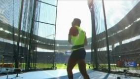 حذف کاوه موسوی در مرحله مقدماتی پرتاب چکش (المپیک ریو 2016)