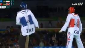 شکست سجاد مردانی مقابل بریتانی (المپیک ریو 2016)