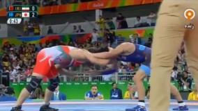 شکست عجیب حسن رحیمی مقابل ژاپن و راهیابی به رده بندی (المپیک ریو 2016)