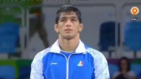 مراسم اهدا مدال طلا به حسن یزدانی (المپیک ریو 2016)