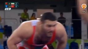 پیروزی قاطعانه رضا یزدانی مقابل ترکیه (المپیک ریو 2016)