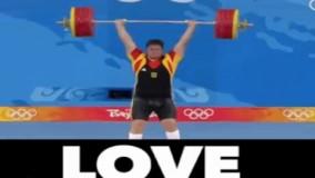 به همسرش قول داده بود توو المپیک مدال میگیره
