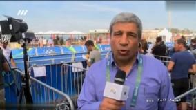 گزارش از مسابقات دوچرخه سواری المپیک توسط هادی عامل