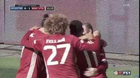 منچستر یونایتد 2 - 1 لستر سیتی