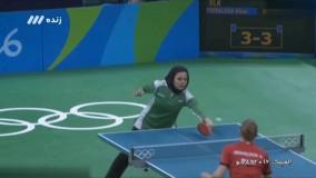 مصاحبه با ندا شهسواری تنها بانوی تنیس روی میز در المپیک