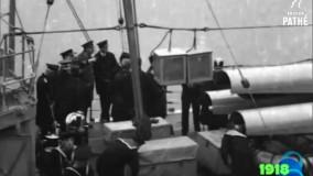 فیلم سفر احمدشاه قاجار به انگلیس در سال 1918-1919