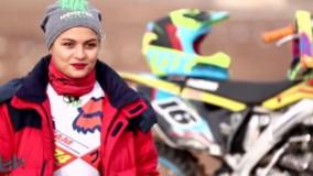 اولین دختر موتور ریس سوار ایران و اولین سازنده دیجیریدو