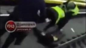 خودکشی مردی جوان در ایستگاه متروی شریف( هشدار! دلخراش است)