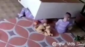 نجات جان برادر دوقلوی دو ساله