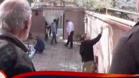 پشت صحنه فیلم  «چراغهای ناتمام» به کارگردانی مصطفی سلطانی