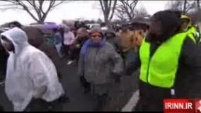 تظاهرات ضد نژاد پرستی در آمریکا
