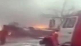 سقوط هواپیمای باری بوئینگ 747 ترکیه در پایتخت قرقیزستان