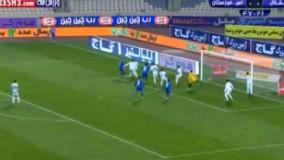 خلاصه بازی استقلال 1-2 استقلال خوزستان