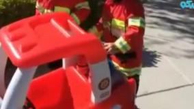 عملیات جالب آتش نشانی کودکان